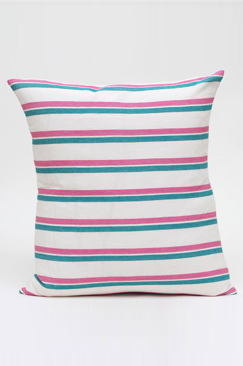 pink green pillow med