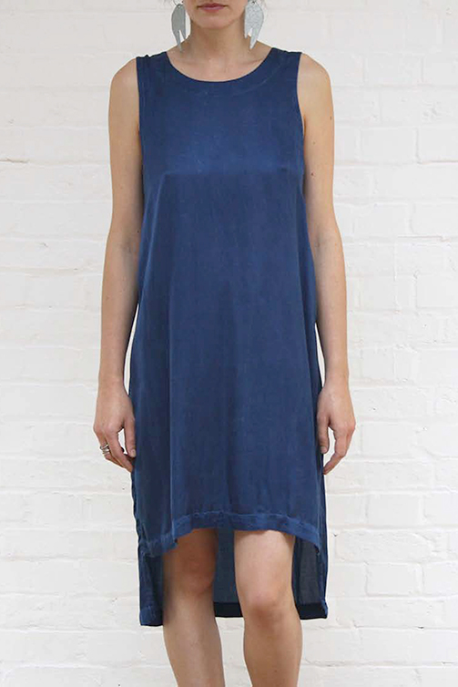 Vest Dress Indigo liz